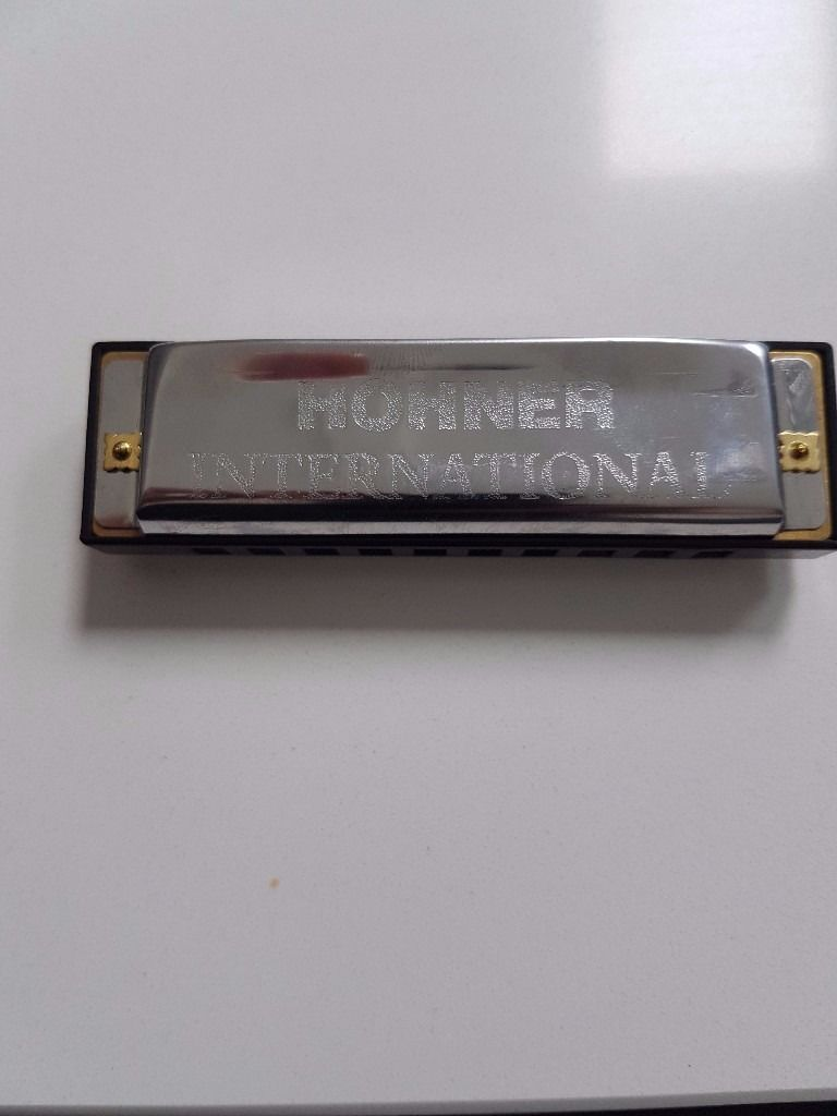 Hohner harmonica set (Blues) set of 7 with case