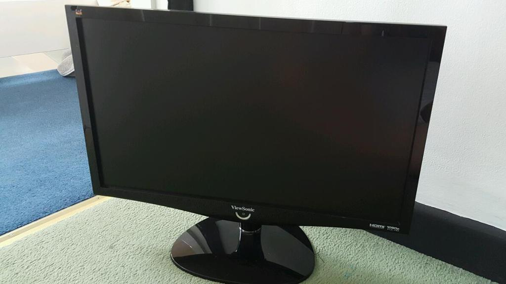 22inch full hd viewsonic monitor