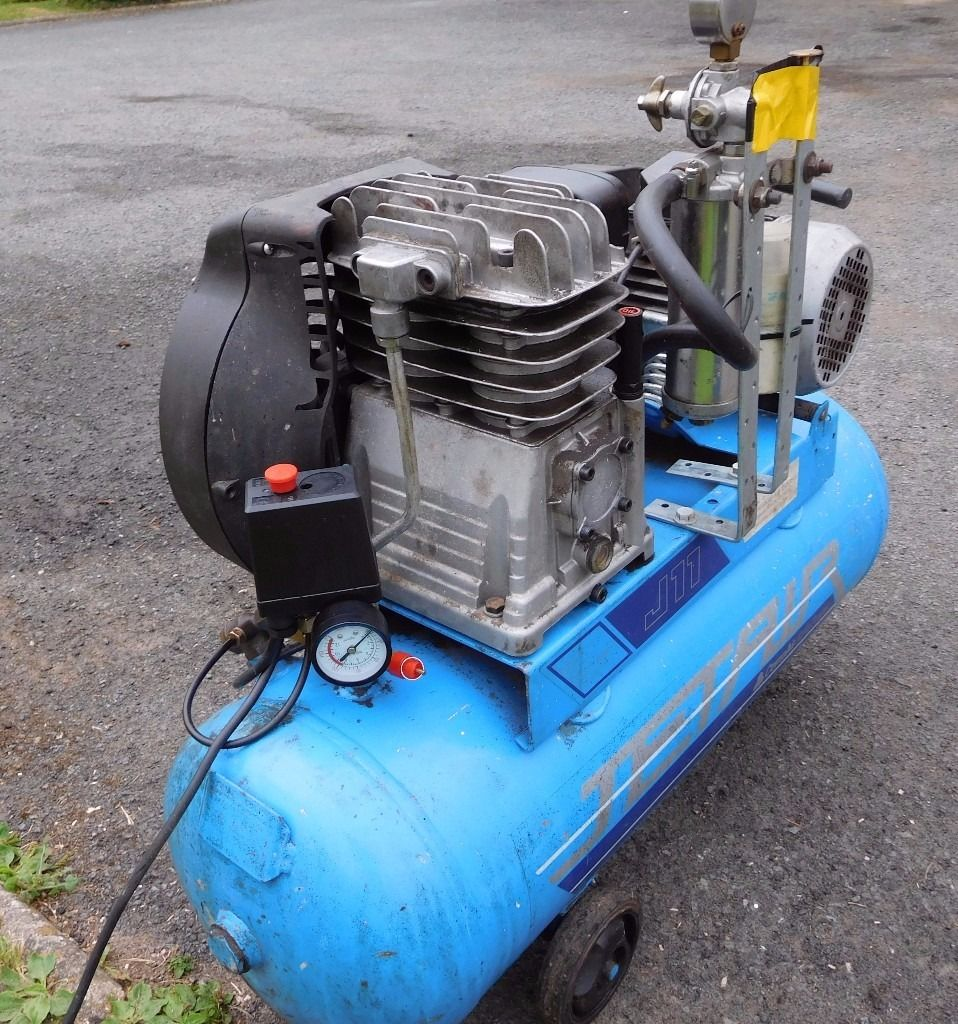 COMPAIR JETAIR AIR COMPRESSOR J11. 11CFM and 10 bar SPARES REPAIRS