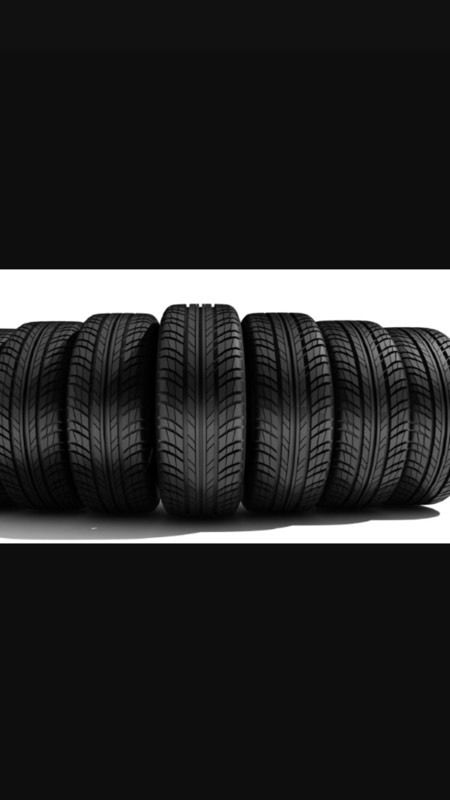 Part worn tyres for cars