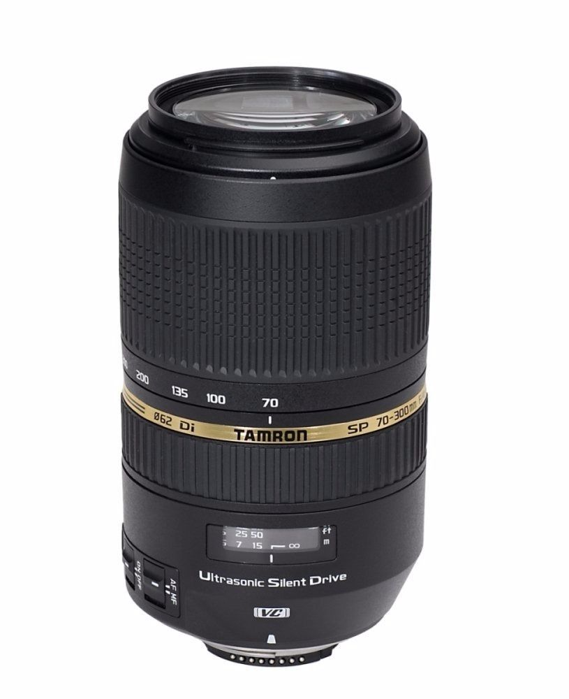 BRAND NEW Tamron SP AF 70-300 F/4-5.6 Di VC USD Lens for Nikon - UN-OPENED