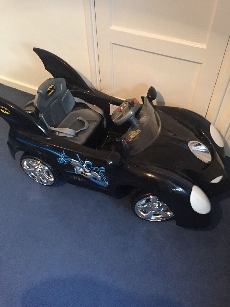 Batmobile (battery operated)