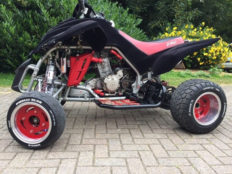 Quadzilla 450 road legal quad