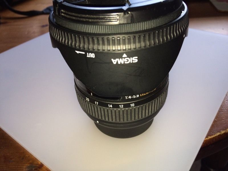 Sigma 10-20mm HSM Wide Angle Zoom Lens