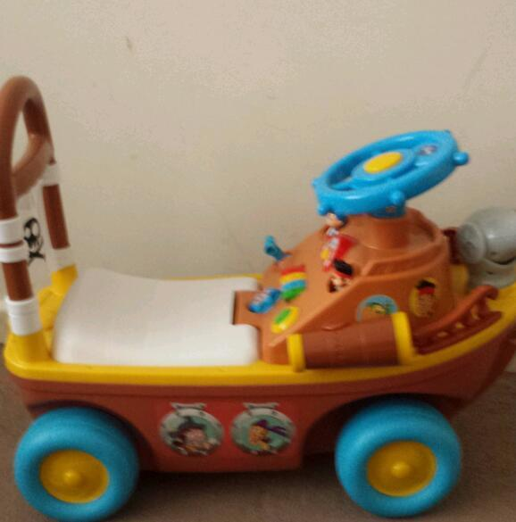 Jake and the nether land pirates ride on toy