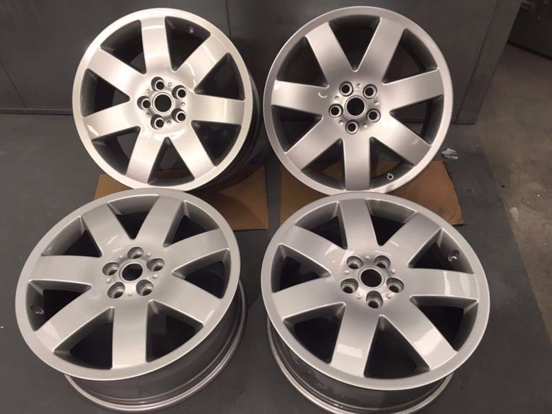 Alloy wheels 20 inch Genuine Range Rover or T5 Van
