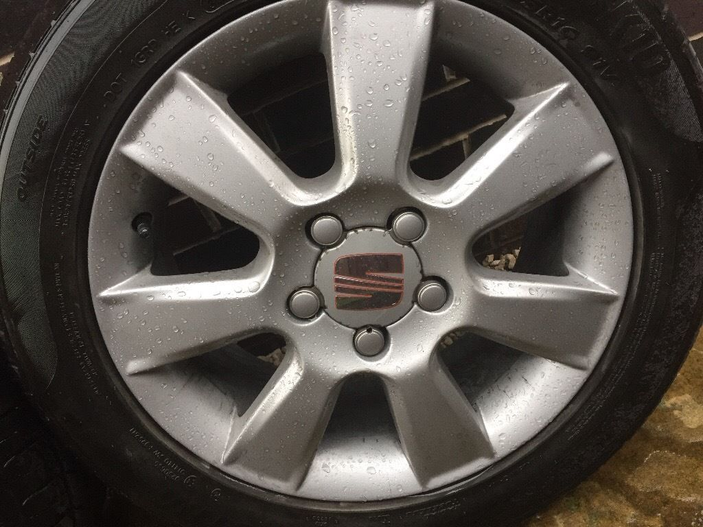 Genuine Seat Leon Alloys 5x112x16