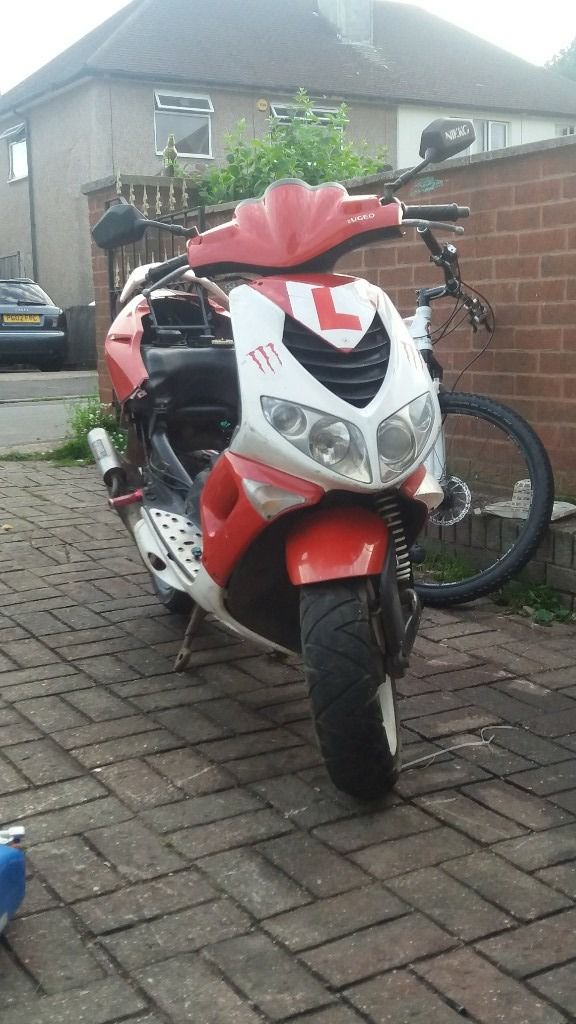 cheep moped just needs some tlc