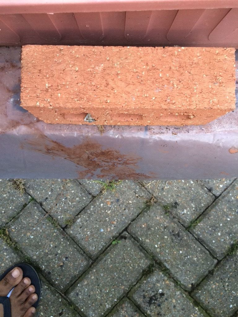 County red rustic bricks