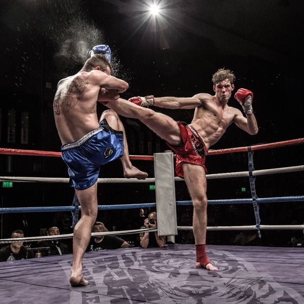 Personal trainer specialising in Muay Thai boxing