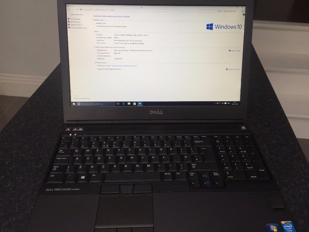 Dell Precision M4800 Intel Core i7-4800MQ Workstation + Advanced Docking Station