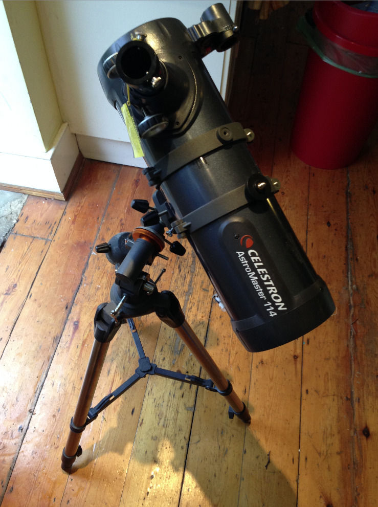 TELESCOPE for sale in HACKNEY (Celestron AstroMaster 114)