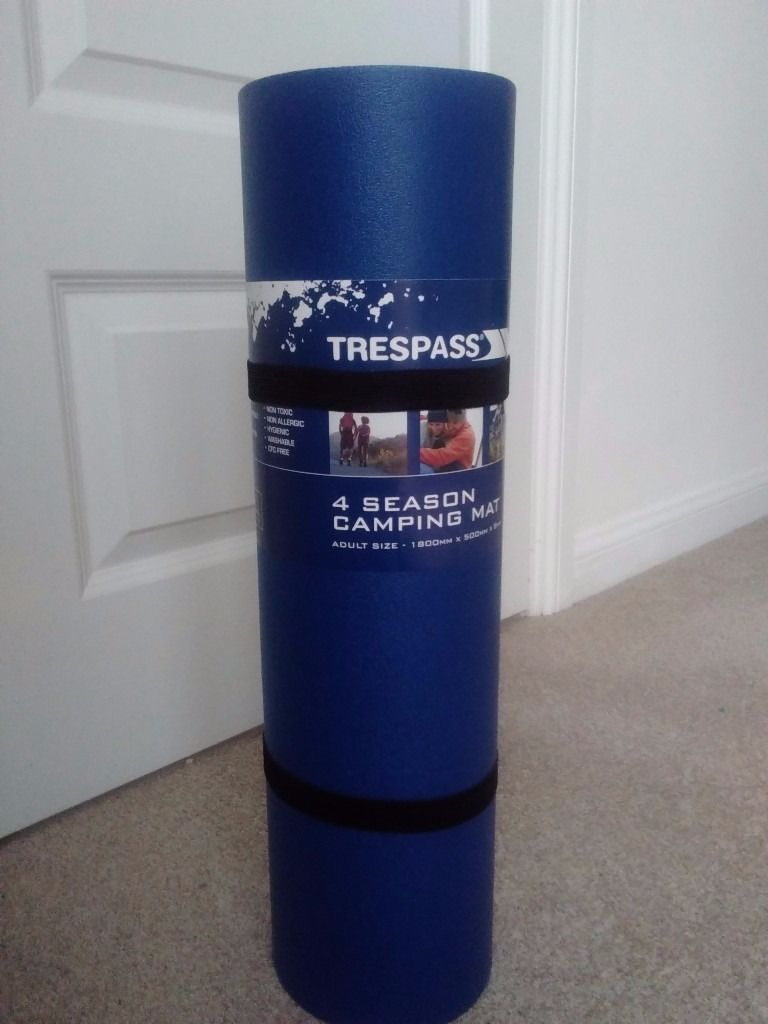 Brand new 4 season camping mat Trespass.Good quality