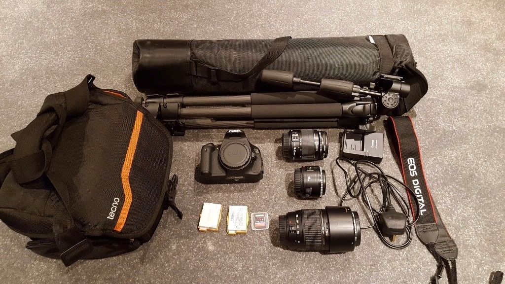 Canon 600D starter kit - hardly used.