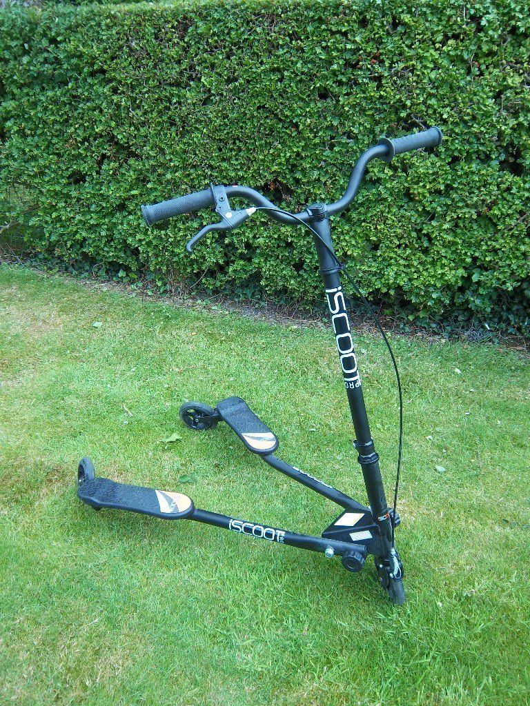 3 wheel swing scooter
