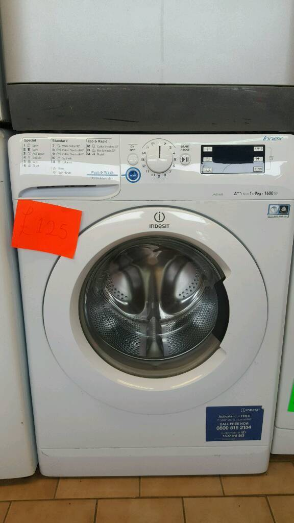 9kg A+++ rating 1600 spin washer