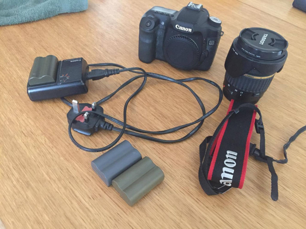 Canon 50 D with accesories and lens TAMRON AF 17-50 Quick sale