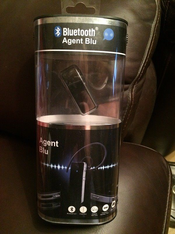 NEW - Agent Blu - Bluetooth Headset