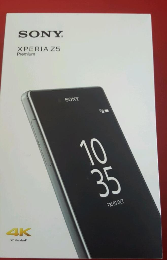 Sony z5 premium large screen mobile phone. Boxed. Unlocked.
