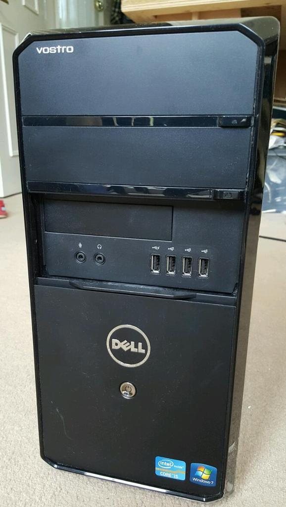 Dell Vostro 460 - Intel i5 2400 CPU 3.1 GHZ - 4GB RAM