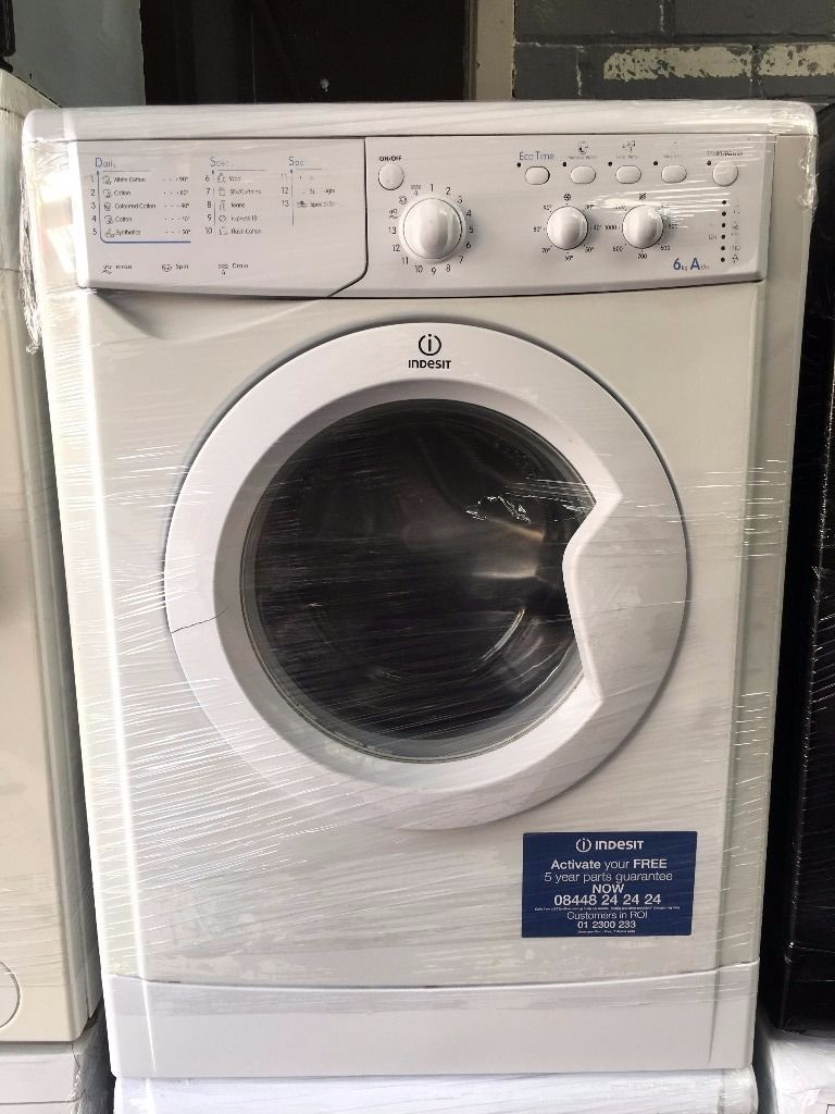 INDESIT free standing washing machine 6 kg A class nice condition & perfect working order