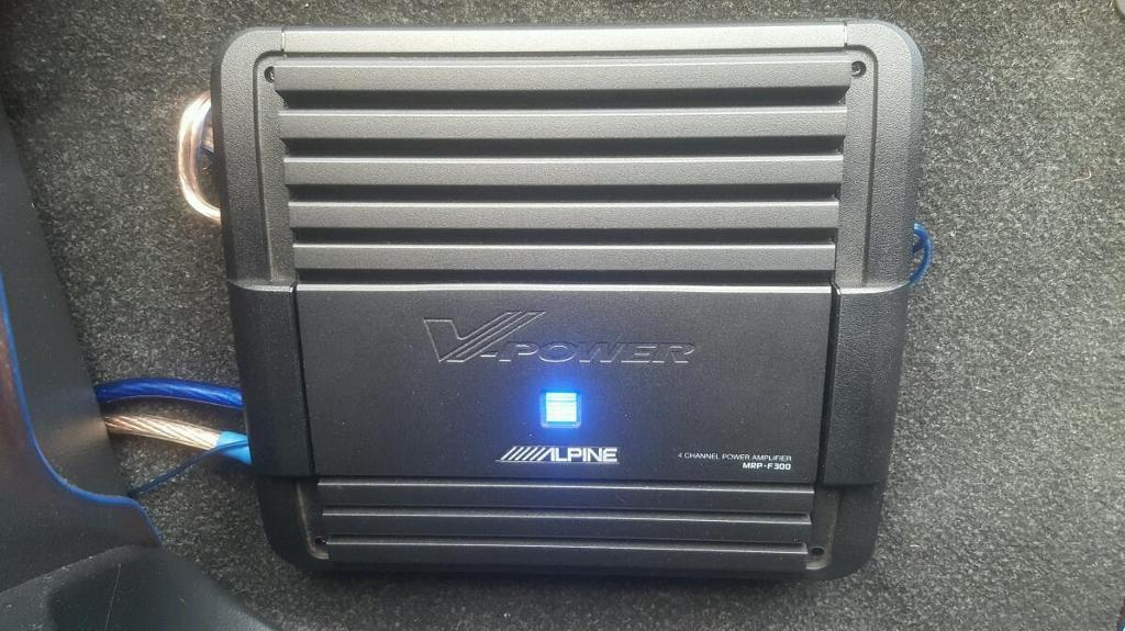 Alpine Amplifier MRP-F300