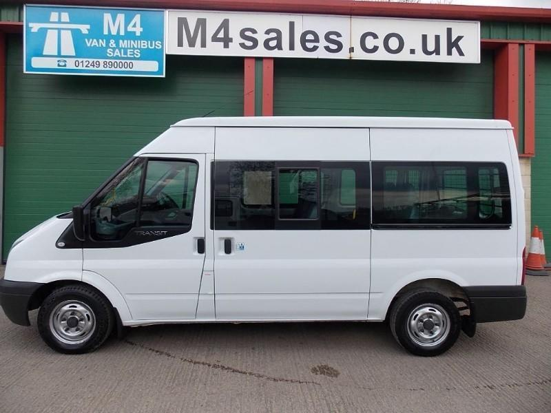 Ford Transit 300 9 Seat Shuttle 125ps Euro 5 A/C B/T