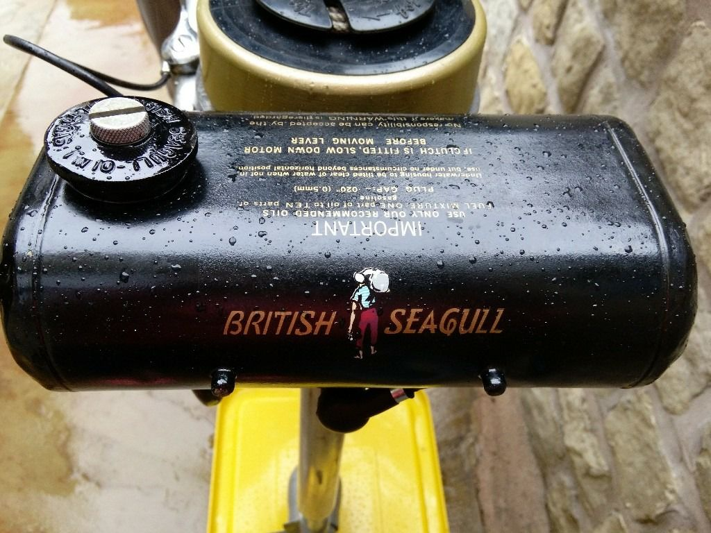 Classic Seagull Outboard Engine, Forty Plus, Short Shaft