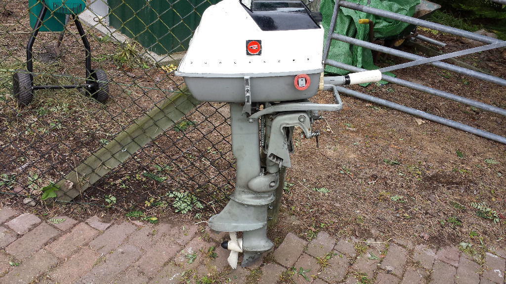 5hp Gale Buccaneer outboard engine