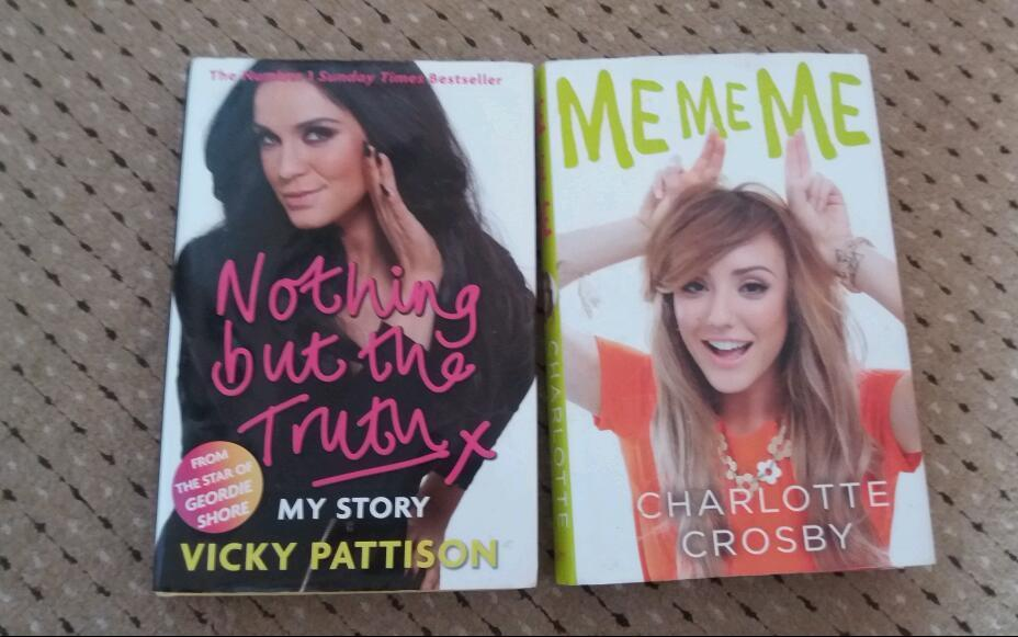 Vicky pattison + charlotte crosby books