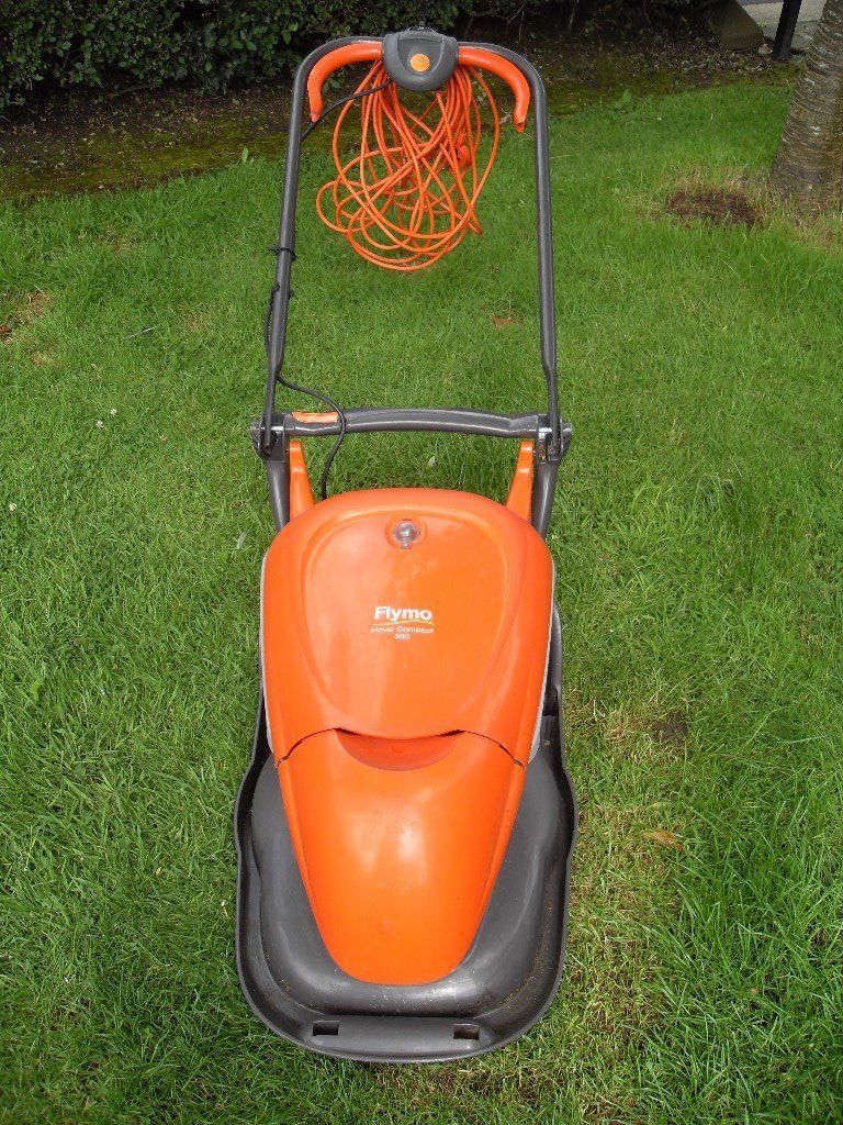 FLYMO HOVER COMPACT 330 WITH INTERNAL GRASS COLLECTION
