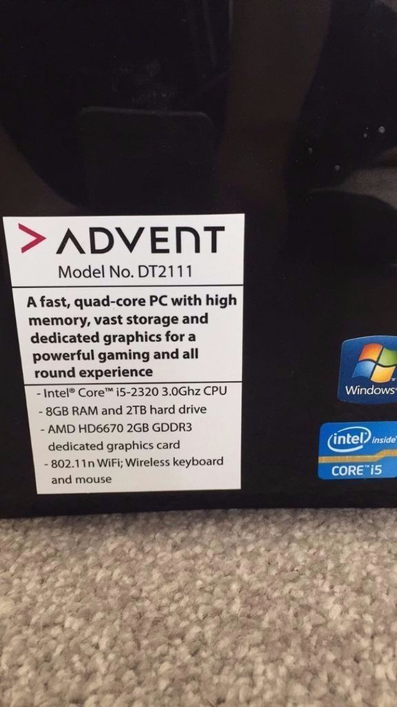 Advent DT2111 All-Round Desktop PC