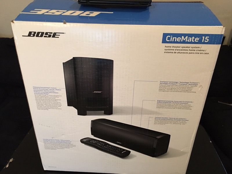 BOSE CINEMATE 15- Brand new