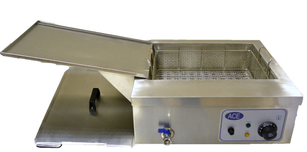 BIG Deep fat fryer for donuts or fish 15litres.