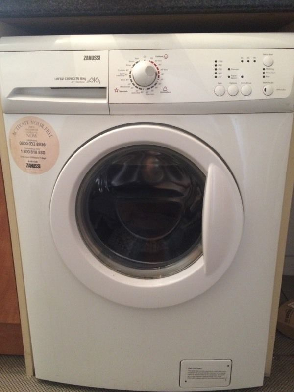 House clearance washing machine bed
