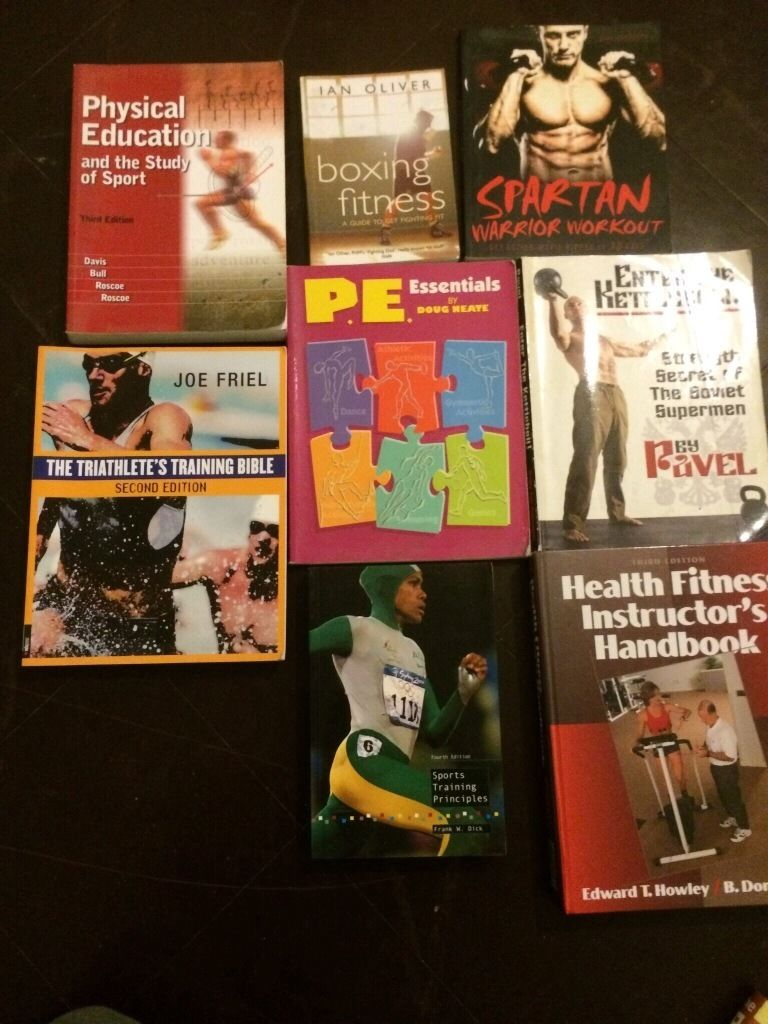 Health and fitness books bundle