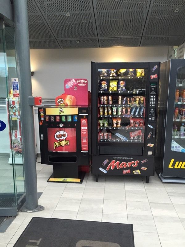Pringles Vending Machine Electronic