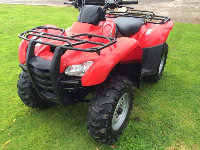 Honda 420cc Farm Quad 2013