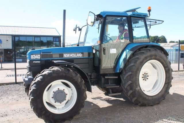 FORD NEW HOLLAND 8340 4WD TRACTOR