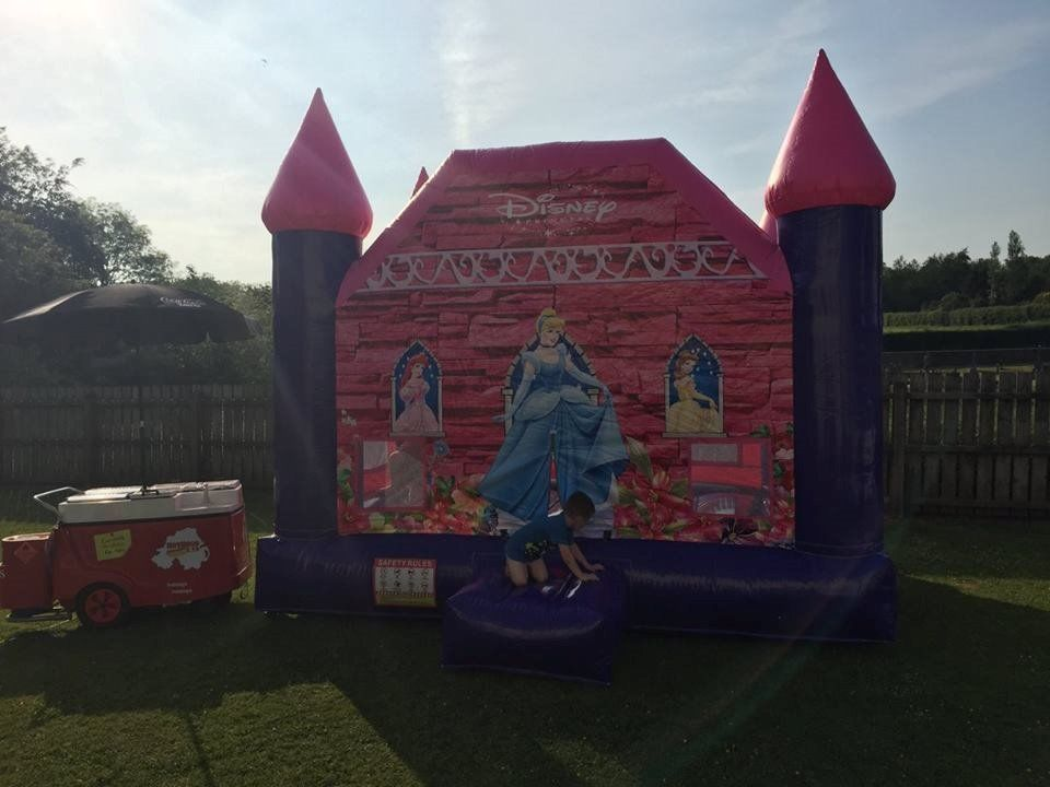 Silly sausages party hire new disco domes bouncy castles mega slide face painting glitter tattoos