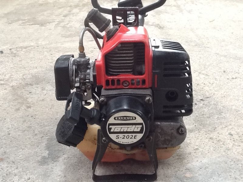 Barrus Petrol Strimmer with Kawasaki Engine