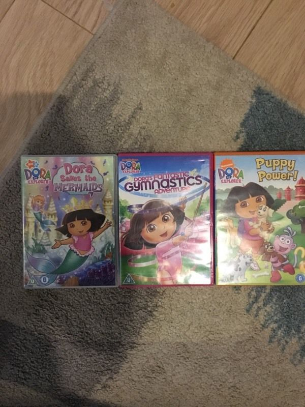 Dora the explorer DVDs
