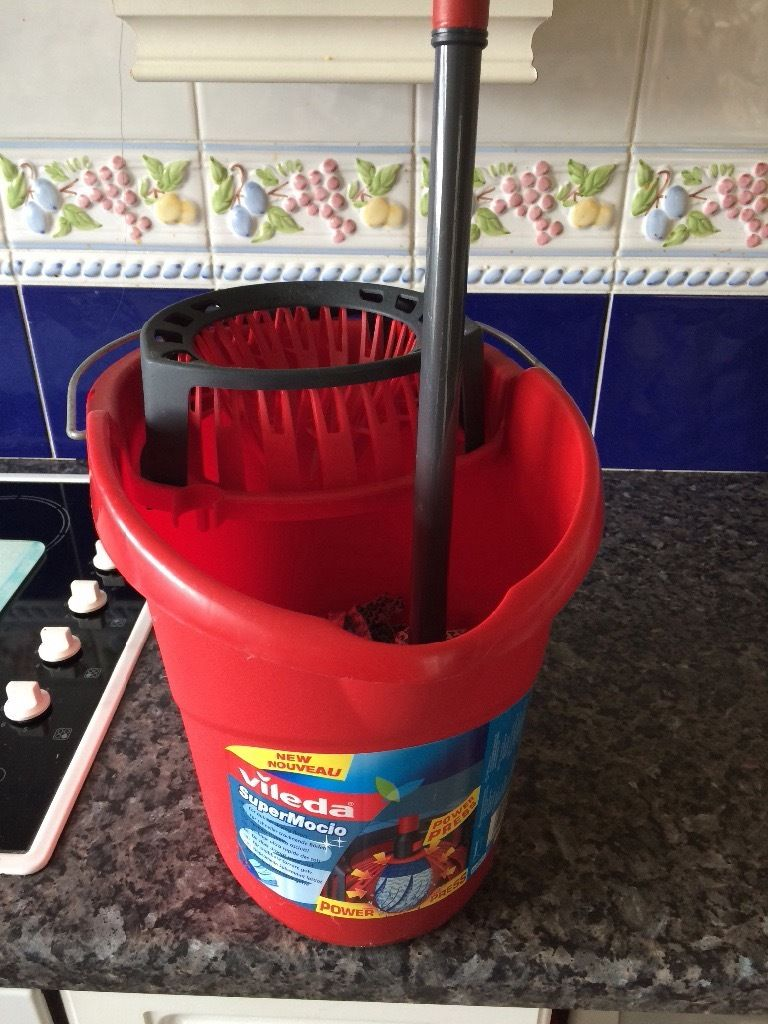 Vileda bucket and mop set