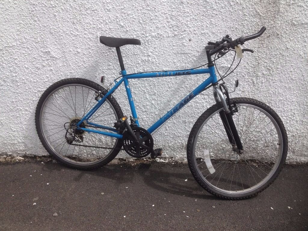 Mirage Delta Jets. MaleMountain bike. Fully serviced, fully safe and ready to go.