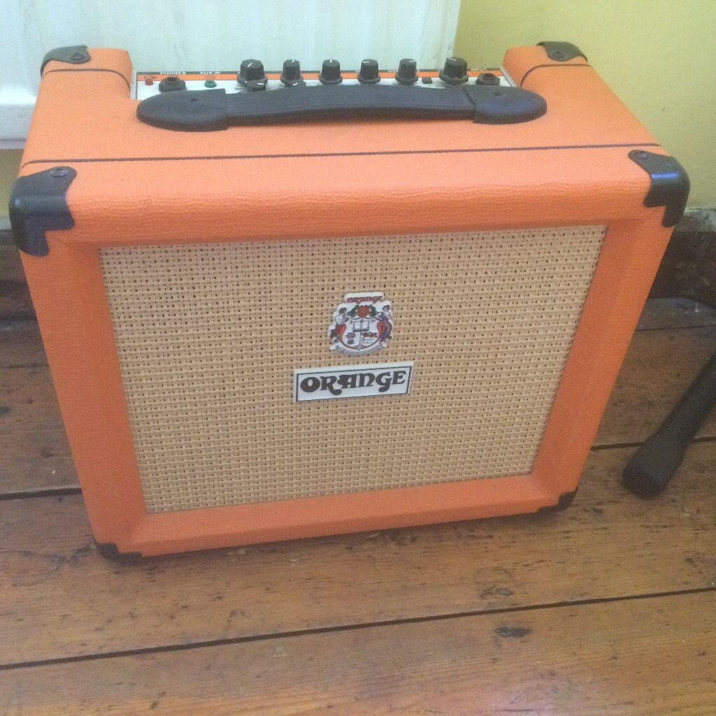 Orange guitar amplifier
