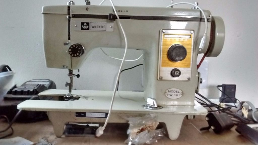 Sewing machine - not sure if it works