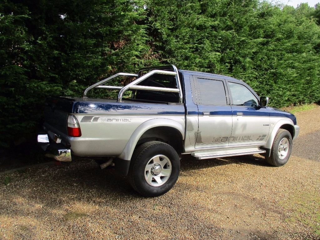 MITSUBISHI L200 ANIMAL 4WD DOUBLE CAB PICK UP 2.5 DIESEL 4X4 GOOD CLEAN TRUCK