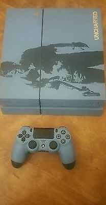 Ps4 uncharted 1tb limited edition with Shock Controller, Uncharted 4 game AND GTA V
