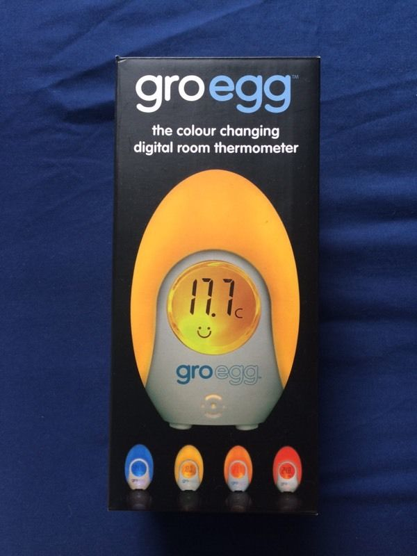 GroEgg temperature night light