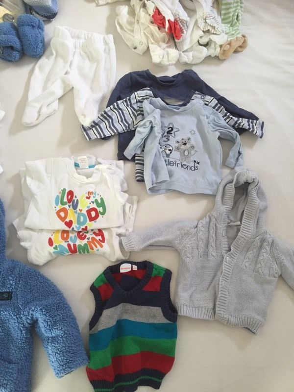 Boy's clothing - 0-3 months - lots here!